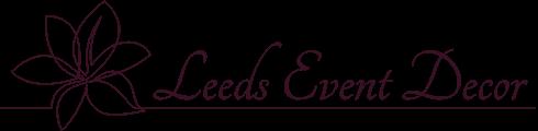 Leeds Events & Decor Logo